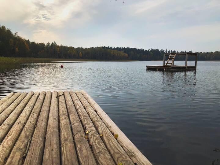 Усадьба на голубых озерах- Хутор Близ Грумбинентов