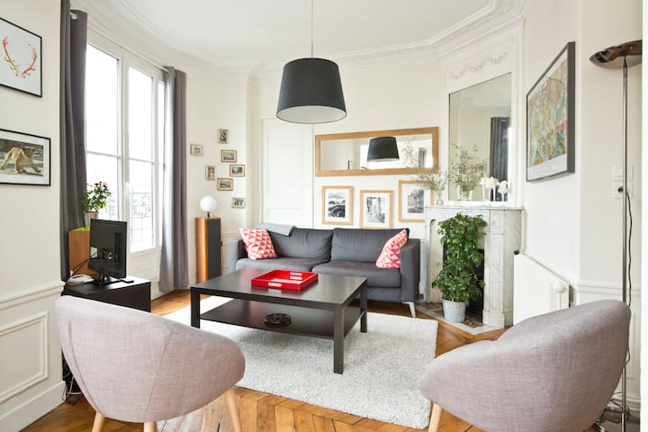 Charming & cosy apt in Montmartre