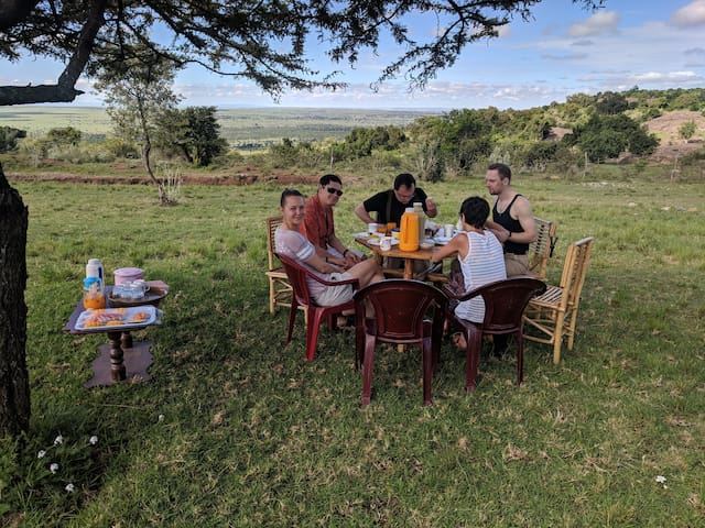 Oloip House, Maasai Mara