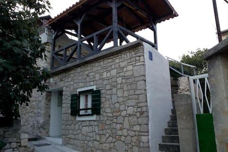 """Šparoga "" -  Dalmatian stone house for  holiday"