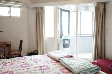 Eddie@home(4A)景觀套房,獨立衛浴,大陽台 - Datong District - Appartement