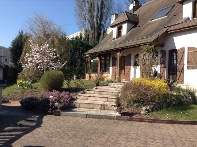 Chambre privée proche de Rouen - Déville les Rouen - ทาวน์เฮาส์