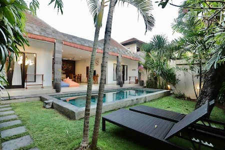 2BR Pool Villa. 10 Min Walk to Beach