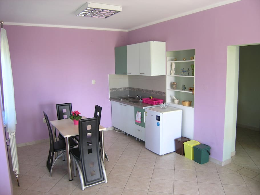 kitchen with dinning table