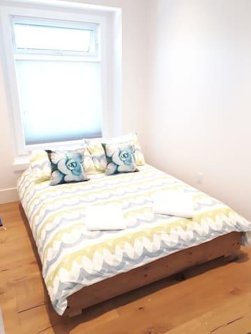 bedroom 3-  upstairs  1 bed queen size sleeps 2 people