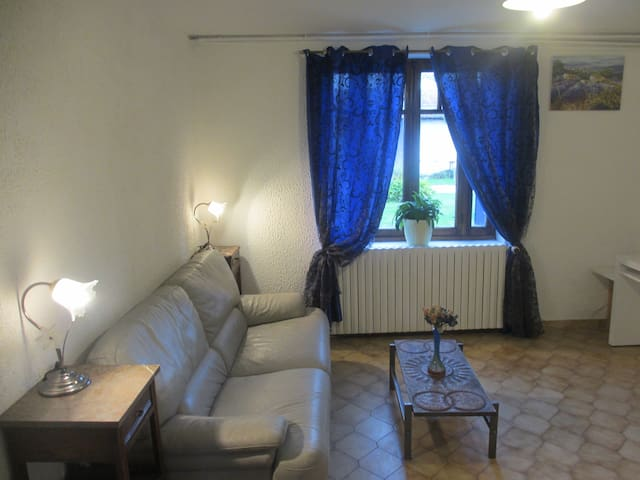 a huge and quiet flat in the countryside - SAINT RAMBERT D ALBON - Apartamento