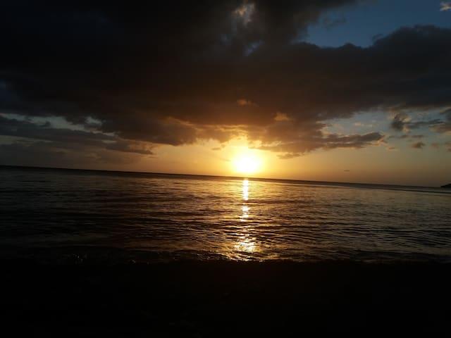 Ciel Soleil et Mer