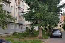 Двухкомнатная квартира напротив Казанского кремля