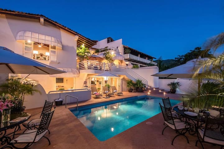 Spectacular Ocean View 4Bd House Downtown Vallarta