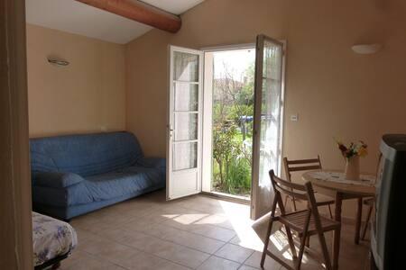 Studio vacances piscine proche du Mont Ventoux - Modène - Appartamento