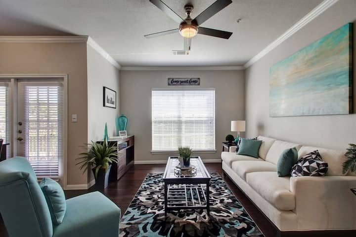 Relax in comfort | 1BR in Austin