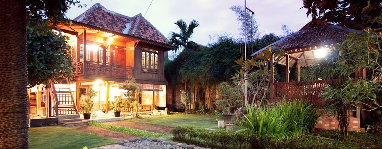 Rumah Kayu (Wooden Stilt House)