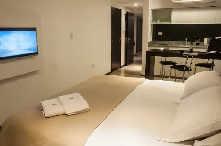 Monoambiente deluxe cama matrimonial -TS 6-