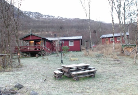 Cabin at Ramfjord with WiFi. Great surroundings!