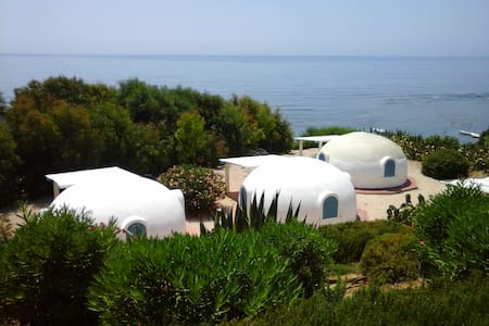 See view bungalows in south Sicily - Sciacca