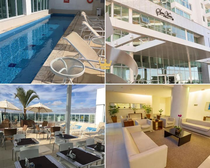 Flat Saint Moritz Brasília Hotel