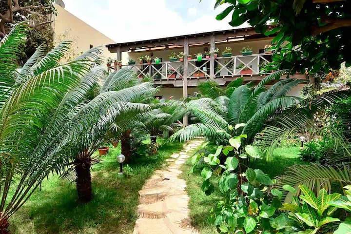 Villa Hibiscus, Pied dans l'eau