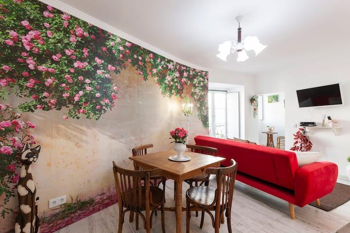 The Garden - Charming 1 Bedroom apt in Graça