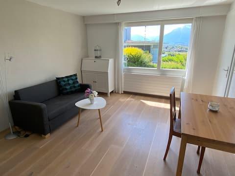 2-кімнатна квартира з видом на гори та замок