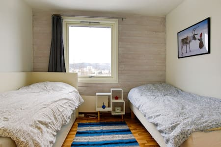Nice room with view & free parking - Fjellhamar  - Apartament