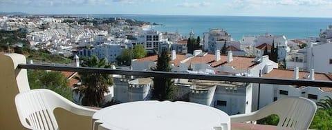 Fabulous Sea view studio near old town Albuferia