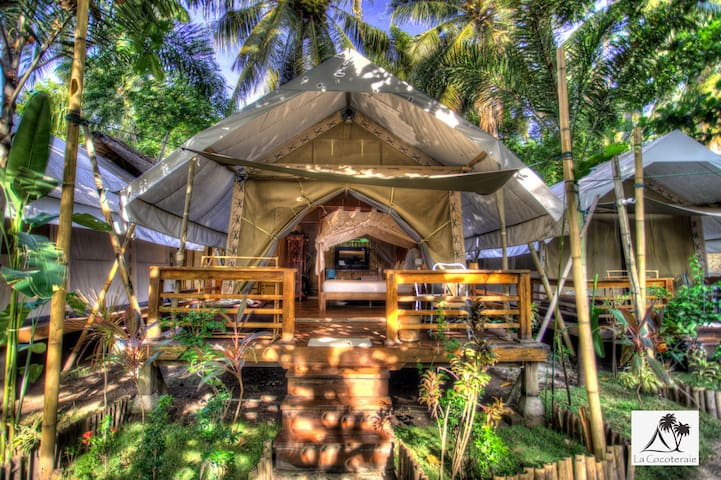 La Cocoteraie Ecolodge: Luxury tent 2
