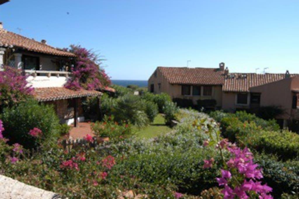 Contesto di Punta Volpe/apartments in small villas in Punta Volpe