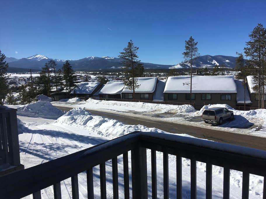Snow view.