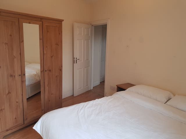 Simple and clean room (Room 4) with double bed.