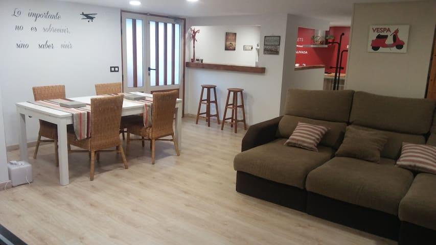 Apartamento con piscina en ORORBIA 3+1 pax