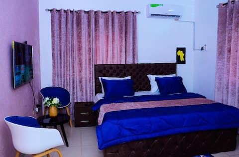 Assokoro's room, beautiful and secure location