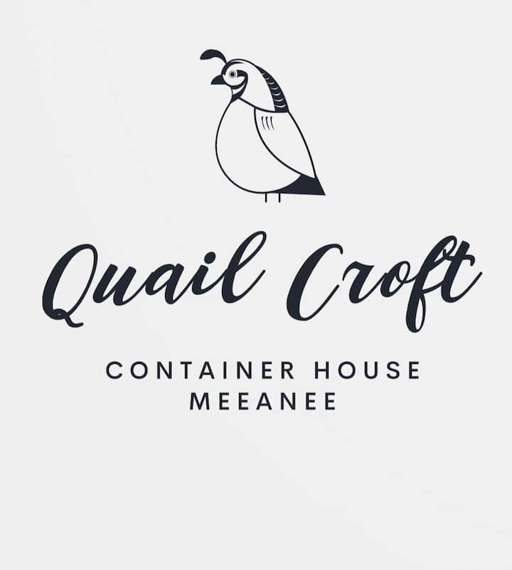 Quail Croft, quirky tiny house on a tiny farm.