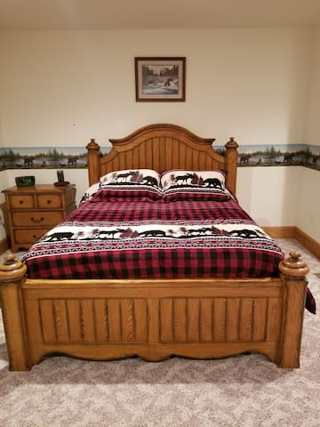 Northwoods Bear Room on the Ranch