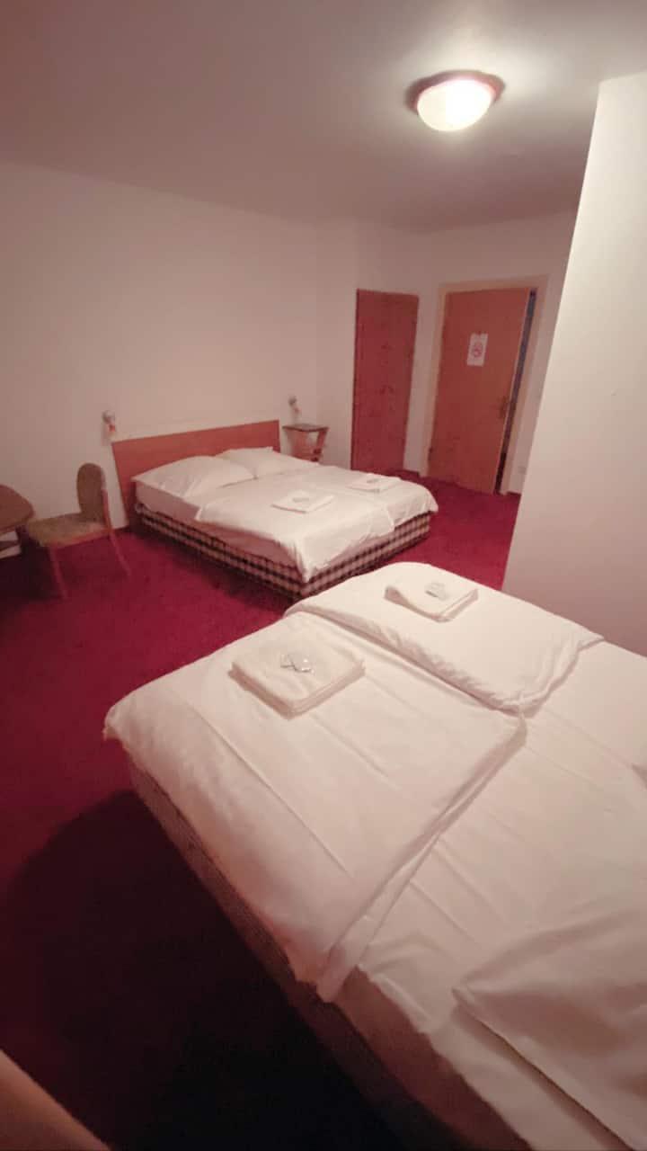 Hotel Quad room