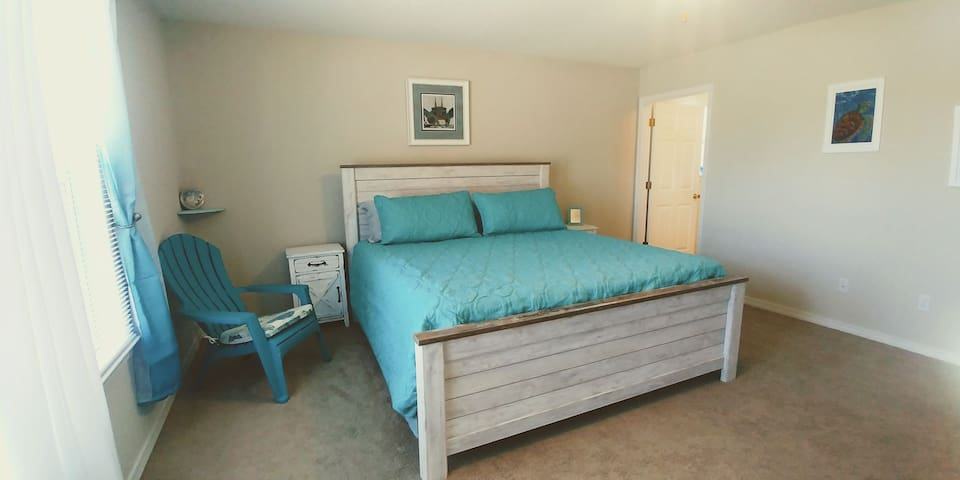 You will love the huge Dolphin Master Suite.
