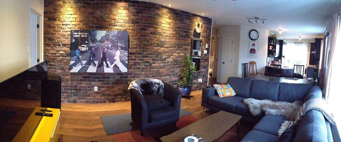 Pretty, cozy and bright condo (roommate) - Brossard - Apartment