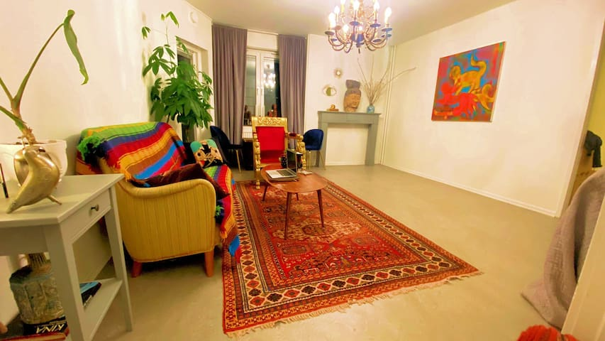 Cozy apartment+balcony close to center (Guldheden)