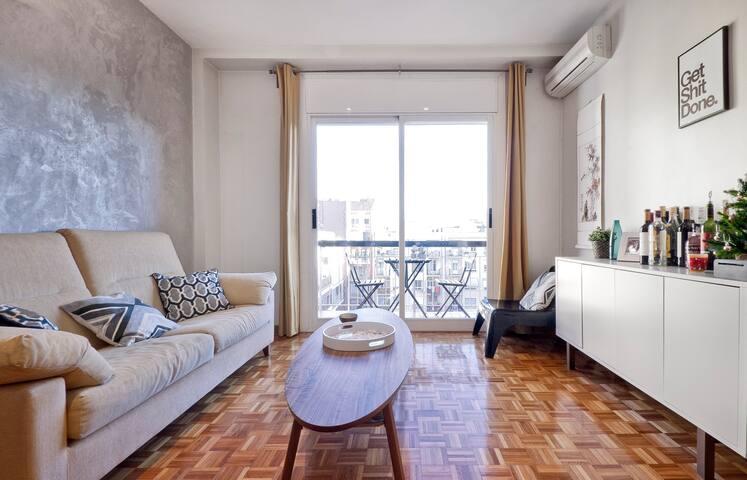 Cozy & Quiet Room near Sagrada Familia - Barcelona - Apartment