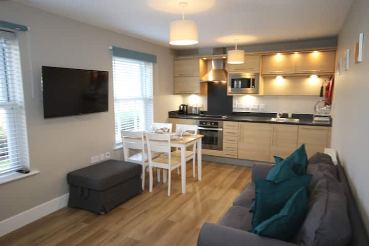 Dog friendly apartment in The Bay Filey, sleeps 4