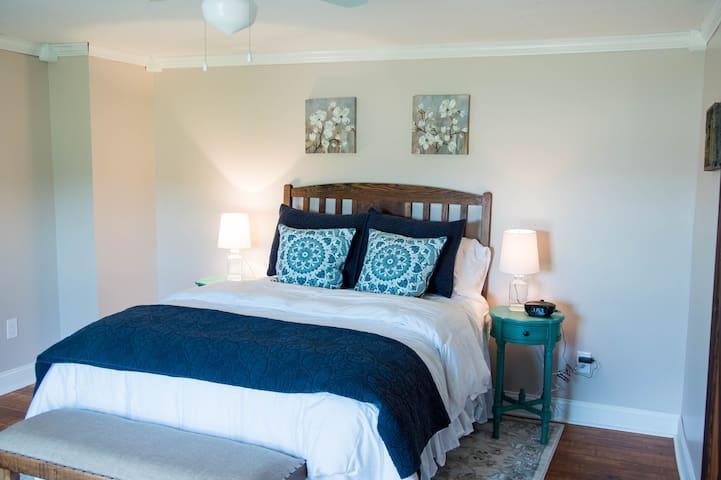 West Bedroom: Antler & Oak (Wheless Farms, LLC)