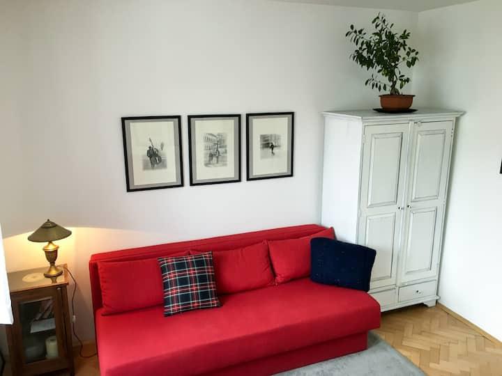 Cozy studio & great outdoor space