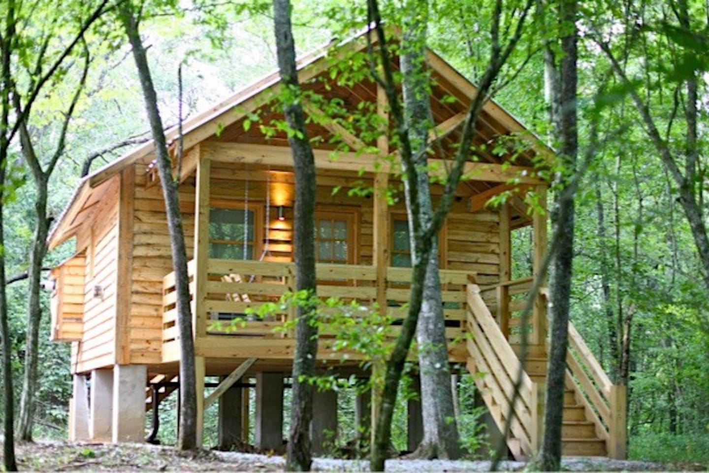 Back Porch of Cabin #1