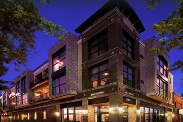 Modern loft in heart of Old Town Fort Collins