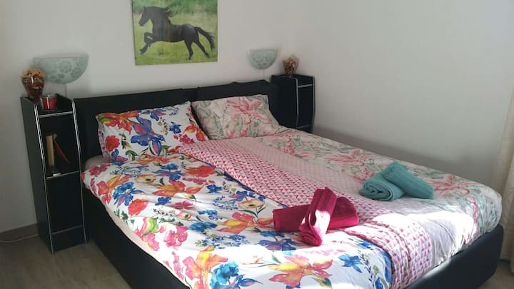 ROOM in PRÀ, near the BEACH and 10 types of SPORTS