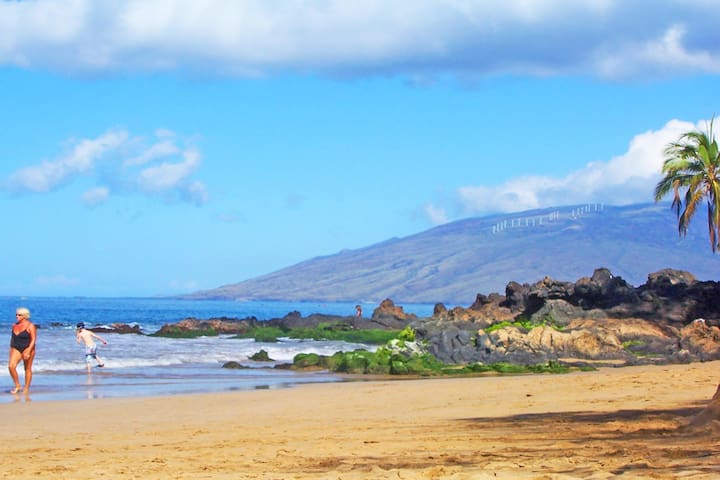 Charley Young Beach which is one block away from Maui Vista resort