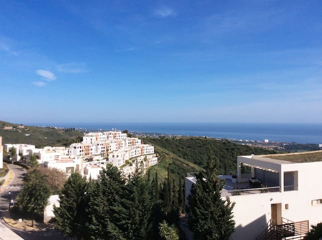 Marbella luxury penthouse with stunning views