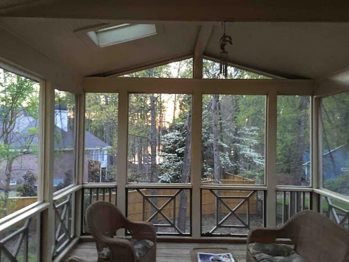 Buford  Lake Lanier view home