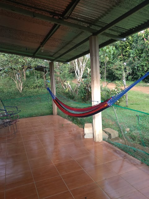 Mountain river retreat in Longo Mai Costa Rica