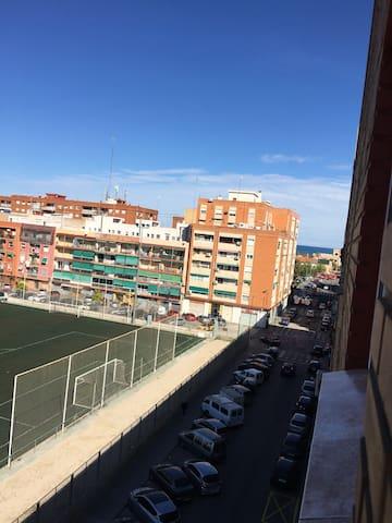 Habitación luminosa cerca del mar - València - Ev