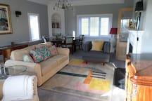 Cosy sunny sitting room